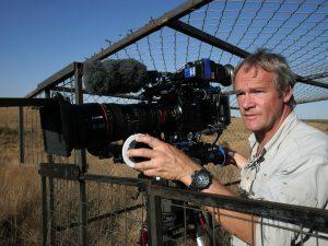 Philippe Garguil sur le tournage de La nuit des éléphants